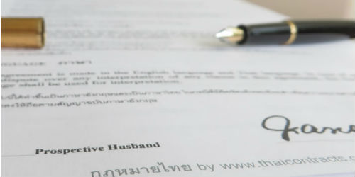 marriage and contract